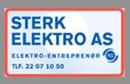 Logoen til Sterk Elektro AS.