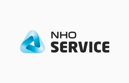Logoen til NHO Service.